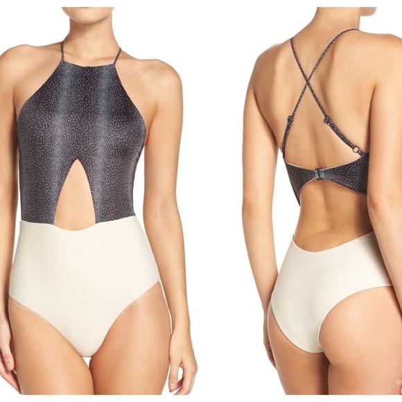 255b14f31a135 Tavik Swim   Lela Onepiece Suit Black Percy Dot   Poshmark